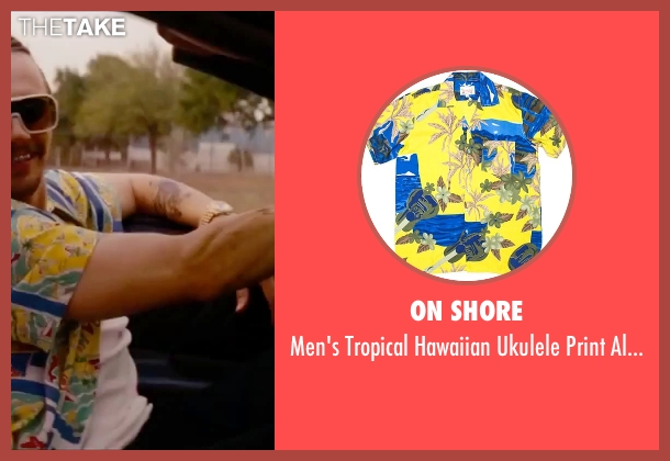 On Shore shirt from Spring Breakers seen with James Franco (Alien)