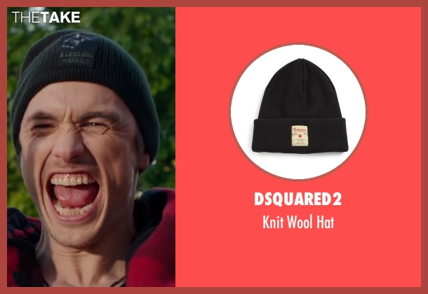 Dsquared2 black hat from Why Him? seen with James Franco (Laird)