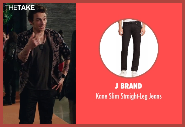 J Brand black jeans from Why Him? seen with James Franco (Laird)