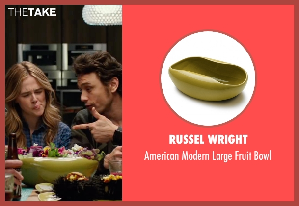 Russel Wright bowl from Why Him? seen with James Franco (Laird)