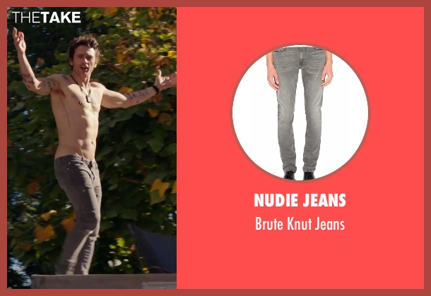 Nudie Jeans gray jeans from Why Him? seen with James Franco (Laird)