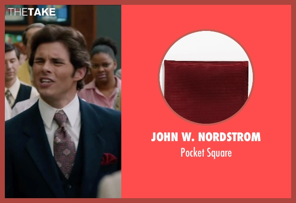 John W. Nordstrom red square from Anchorman 2: The Legend Continues seen with James Marsden (Jack Lime)