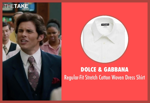 Dolce & Gabbana white shirt from Anchorman 2: The Legend Continues seen with James Marsden (Jack Lime)
