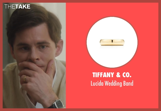 Tiffany & Co. gold band from Lee Daniels' The Butler seen with James Marsden (John F. Kennedy)