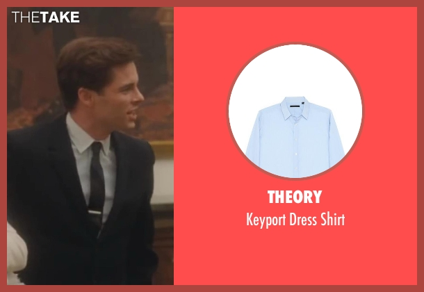 Theory gray shirt from Lee Daniels' The Butler seen with James Marsden (John F. Kennedy)
