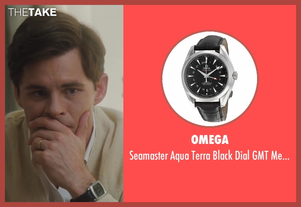 Omega silver watch from Lee Daniels' The Butler seen with James Marsden (John F. Kennedy)
