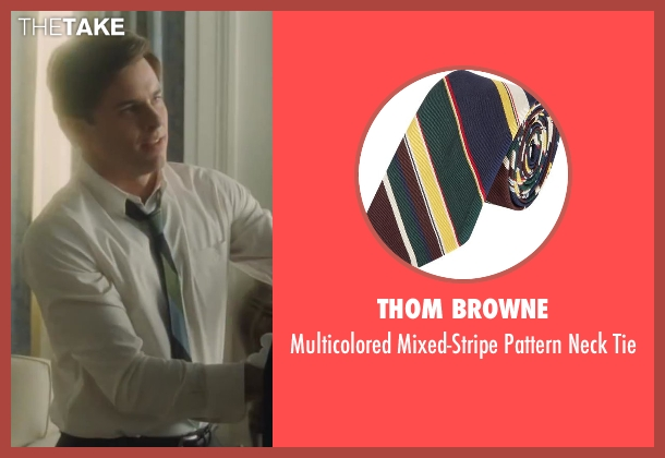 Thom Browne tie from Lee Daniels' The Butler seen with James Marsden (John F. Kennedy)
