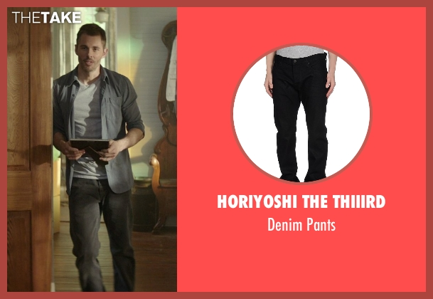 Horiyoshi The Thiiird black pants from The Best of Me seen with James Marsden (Dawson Cole)