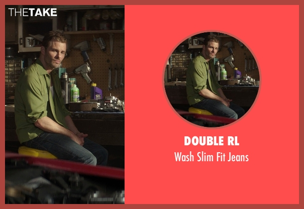Double RL blue jeans from The Best of Me seen with James Marsden (Dawson Cole)