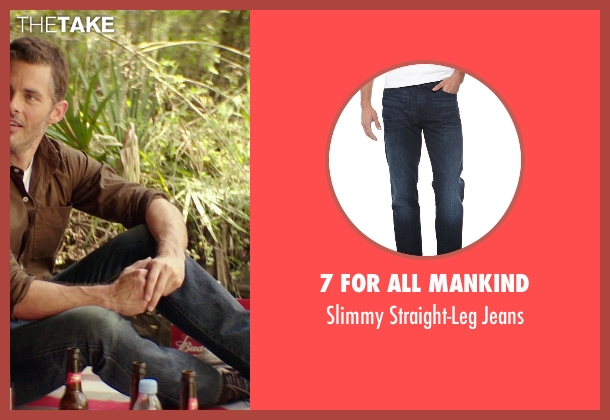 7 For All Mankind blue jeans from The Best of Me seen with James Marsden (Dawson Cole)