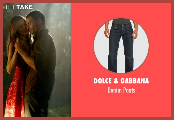 Dolce & Gabbana blue pants from The Best of Me seen with James Marsden (Dawson Cole)