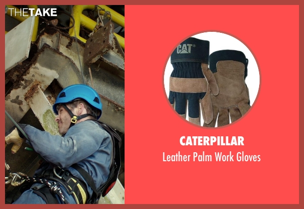 Caterpillar gloves from The Best of Me seen with James Marsden (Dawson Cole)