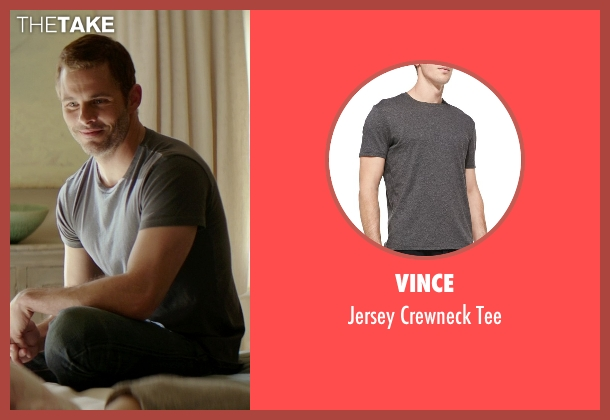 Vince gray tee from The Best of Me seen with James Marsden (Dawson Cole)