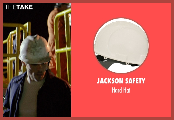 Jackson Safety hat from The Best of Me seen with James Marsden (Dawson Cole)