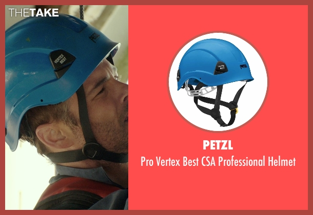 Petzl helmet from The Best of Me seen with James Marsden (Dawson Cole)