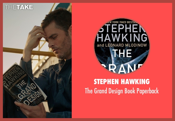 Stephen Hawking paperback from The Best of Me seen with James Marsden (Dawson Cole)