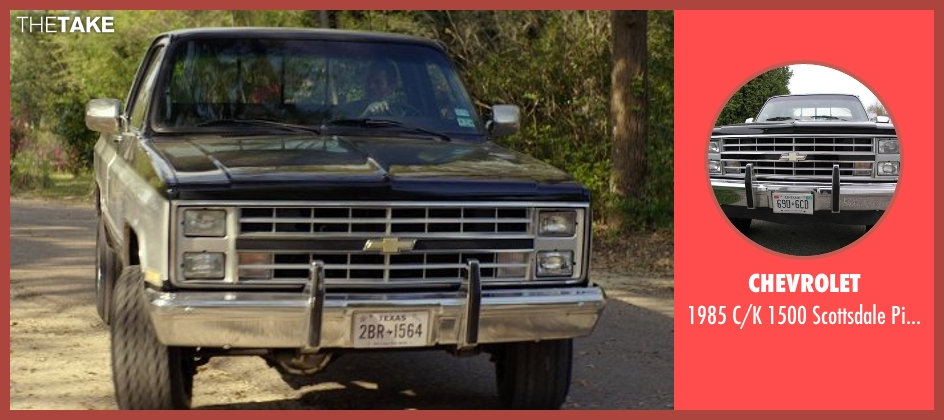 Chevrolet truck from The Best of Me seen with James Marsden (Dawson Cole)