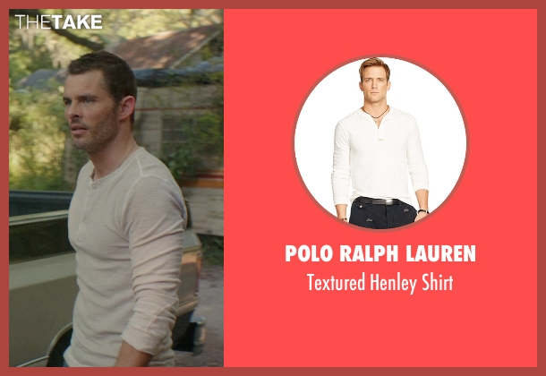 Polo Ralph Lauren white shirt from The Best of Me seen with James Marsden (Dawson Cole)