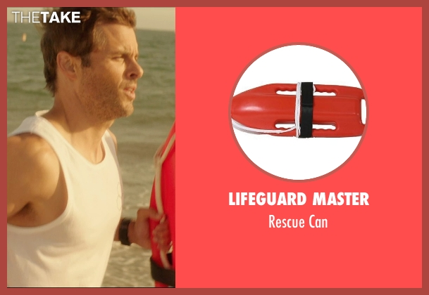 Lifeguard Master can from The D Train seen with James Marsden (Oliver Lawless)