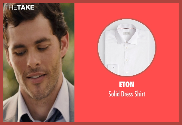 Eton white shirt from The Loft seen with James Marsden (Chris Vanowen)