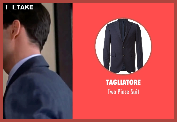 Tagliatore blue suit from The Notebook seen with James Marsden (Lon Hammond)