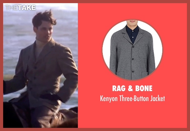 Rag & Bone gray jacket from The Notebook seen with James Marsden (Lon Hammond)