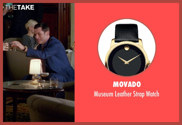 Movado black watch from Unfinished Business seen with James Marsden (Jim Spinch)