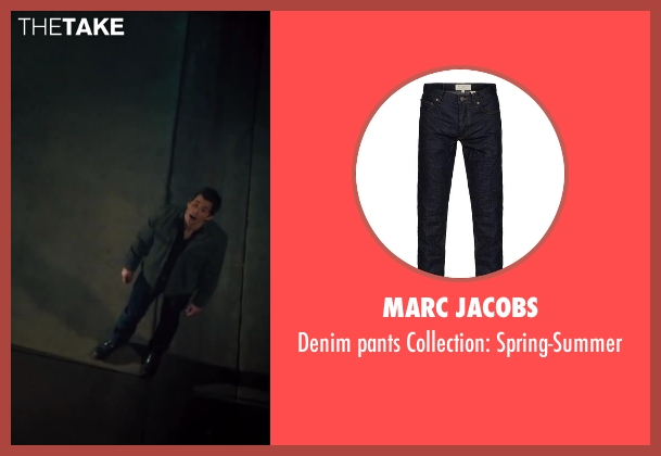MARC JACOBS blue spring-summer from Walk of Shame seen with James Marsden (Gordon)