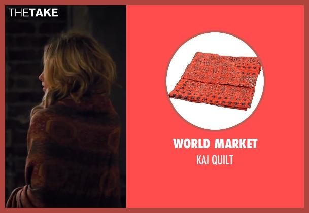 WORLD MARKET quilt from Walk of Shame seen with James Marsden (Gordon)