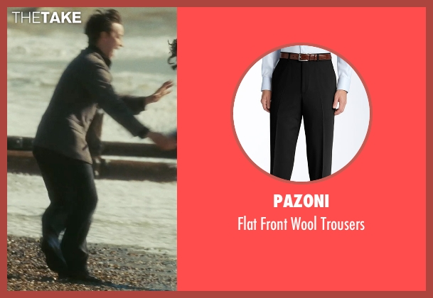 Pazoni black trousers from Atonement seen with James McAvoy (Robbie Turner)