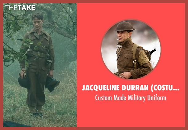 Jacqueline Durran (Costume Designer) uniform from Atonement seen with James McAvoy (Robbie Turner)