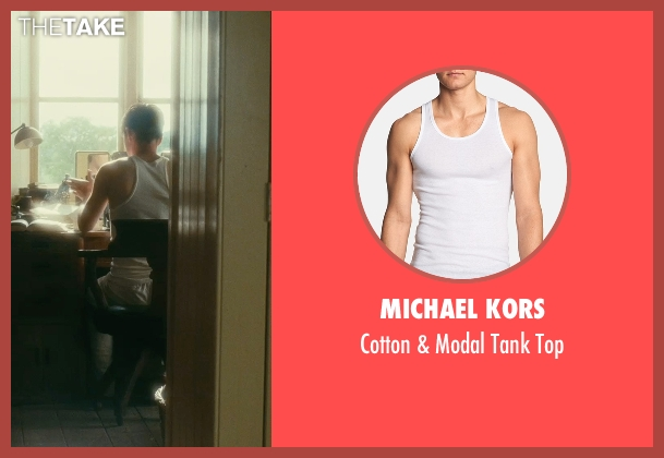 Michael Kors white top from Atonement seen with James McAvoy (Robbie Turner)
