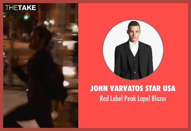 John Varvatos Star USA black blazer from The Disappearance of Eleanor Rigby seen with James McAvoy (Conor Ludlow)