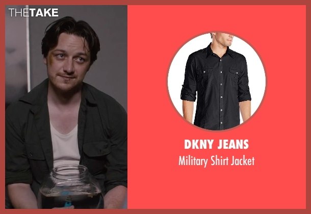DKNY Jeans black jacket from The Disappearance of Eleanor Rigby seen with James McAvoy (Conor Ludlow)