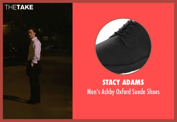 Stacy Adams black shoes from The Disappearance of Eleanor Rigby seen with James McAvoy (Conor Ludlow)