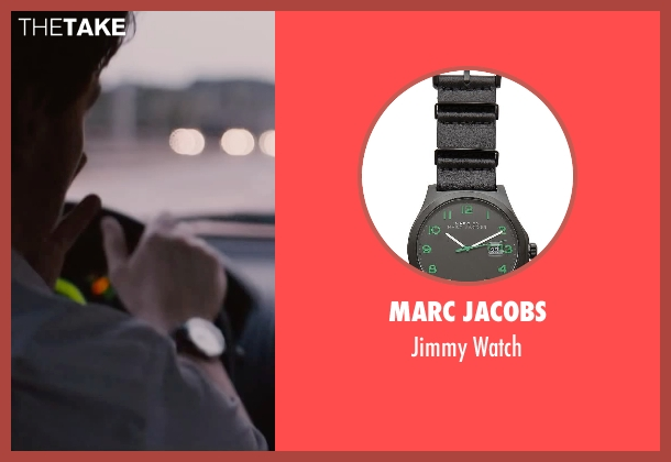 Marc Jacobs black watch from The Disappearance of Eleanor Rigby seen with James McAvoy (Conor Ludlow)