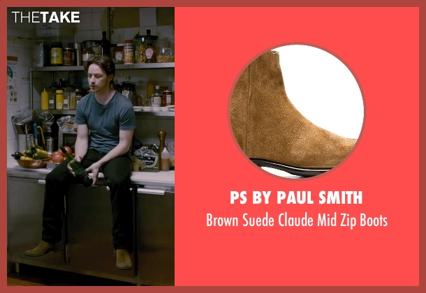 PS By Paul Smith brown boots from The Disappearance of Eleanor Rigby seen with James McAvoy (Conor Ludlow)