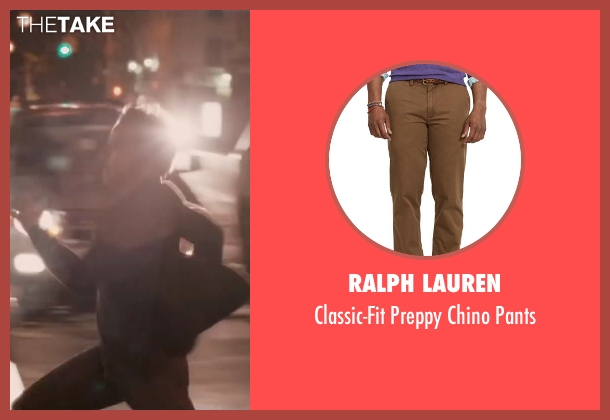 Ralph Lauren brown pants from The Disappearance of Eleanor Rigby seen with James McAvoy (Conor Ludlow)