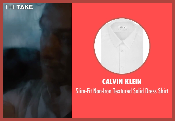 Calvin Klein white shirt from The Disappearance of Eleanor Rigby seen with James McAvoy (Conor Ludlow)