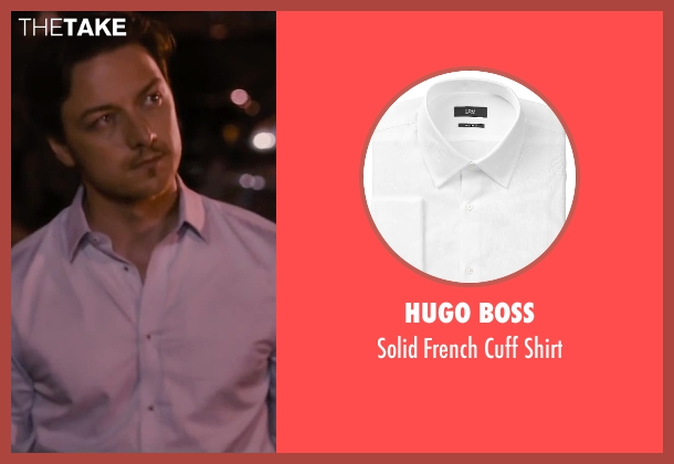 Hugo Boss white shirt from The Disappearance of Eleanor Rigby seen with James McAvoy (Conor Ludlow)