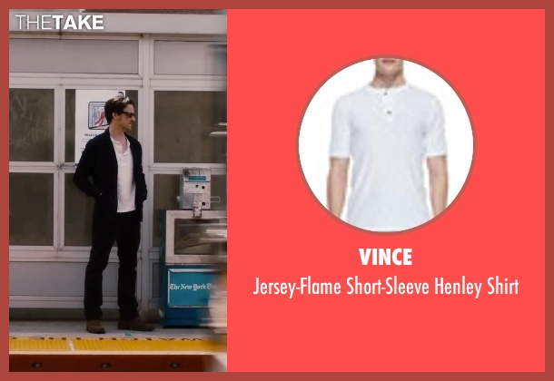 Vince white shirt from The Disappearance of Eleanor Rigby seen with James McAvoy (Conor Ludlow)
