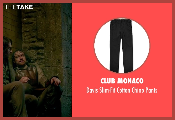 Club Monaco black pants from Victor Frankenstein seen with James McAvoy (Victor Von Frankenstein)