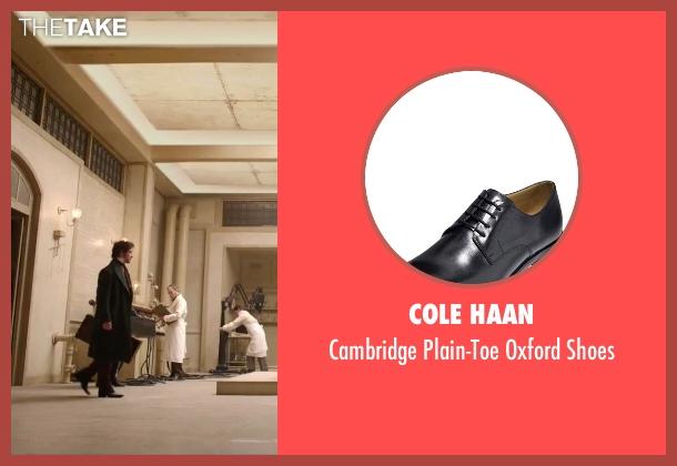 Cole Haan black shoes from Victor Frankenstein seen with James McAvoy (Victor Von Frankenstein)