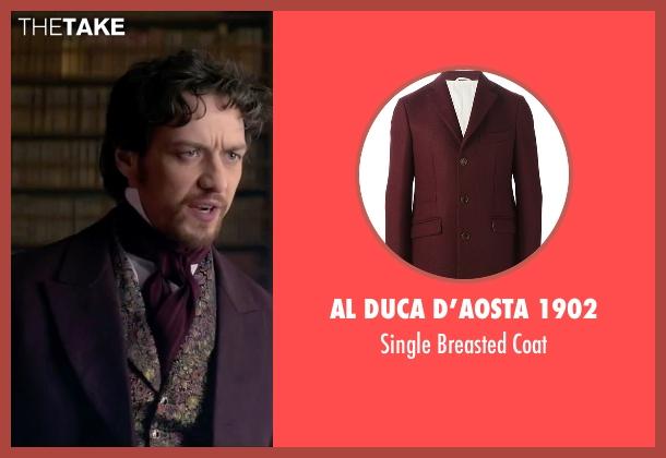 Al Duca D'aosta 1902 red coat from Victor Frankenstein seen with James McAvoy (Victor Von Frankenstein)