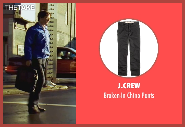 J.Crew black pants from Wanted seen with James McAvoy (Wesley Gibson)