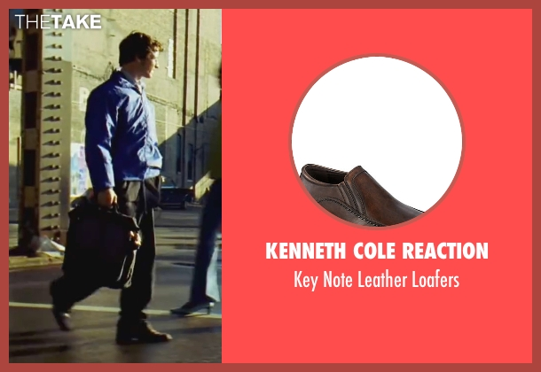 Kenneth Cole Reaction brown loafers from Wanted seen with James McAvoy (Wesley Gibson)