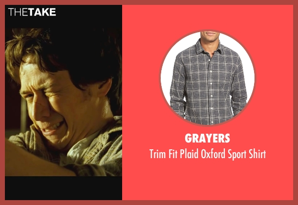 Grayers gray shirt from Wanted seen with James McAvoy (Wesley Gibson)