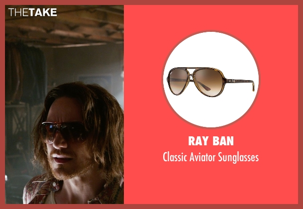 Ray Ban brown sunglasses from X-Men: Days of Future Past seen with James McAvoy (Charles Xavier)