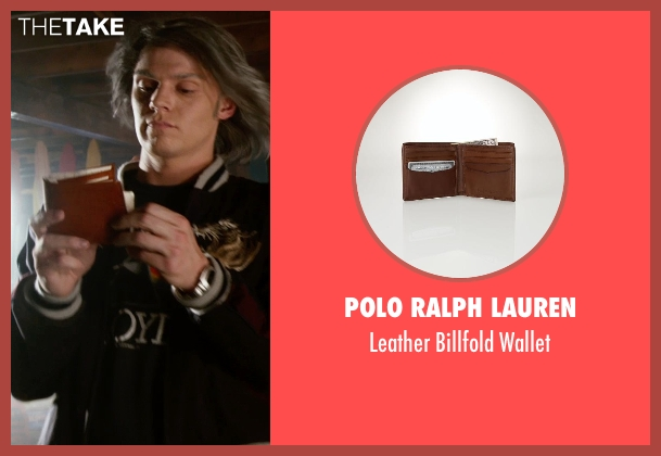 Polo Ralph Lauren brown wallet from X-Men: Days of Future Past seen with James McAvoy (Charles Xavier)