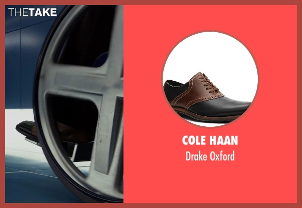 Cole Haan oxford from X-Men: Days of Future Past seen with James McAvoy (Charles Xavier)